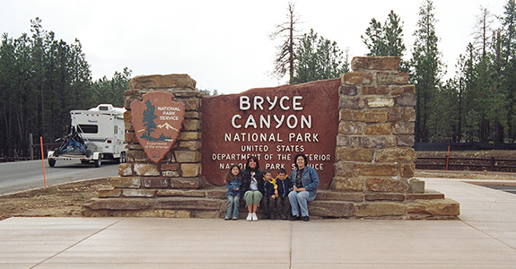 Nevada, Utah and Arizona