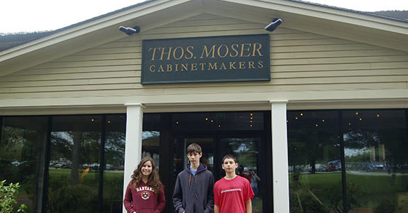 Thos. Moser Furniture Factory Tour