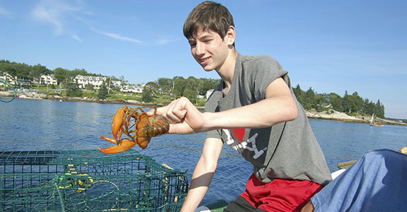 Lobster Fishing on the Sarah Mead