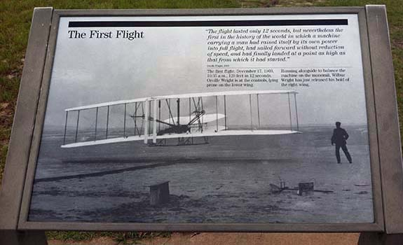 Wright Brothers National Monument at Kitty Hawk (Kill Devil Hills)