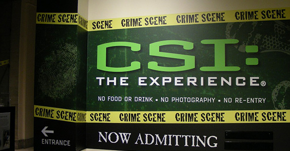 CSI The Experience @ The MGM Grand