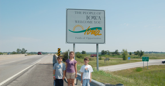 Illinois, Missouri, Iowa, Minnesota, and Wisconsin
