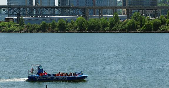 Jet Boat Ride On The Willamette River