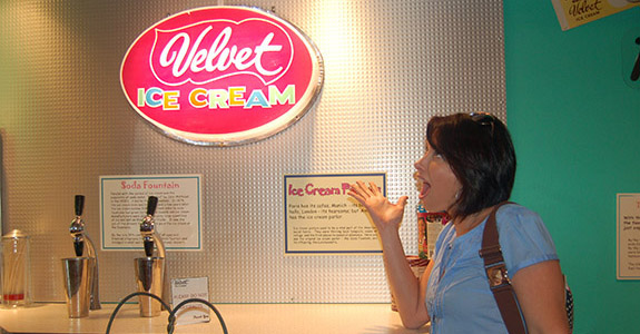 Ye Olde Grist Mill and Velvet Ice Cream Factory (Utica)