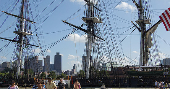 The USS Constitution
