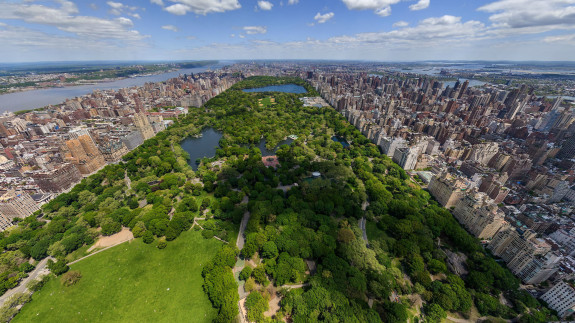 Aerial-view-Central-Park-New-York-United-States
