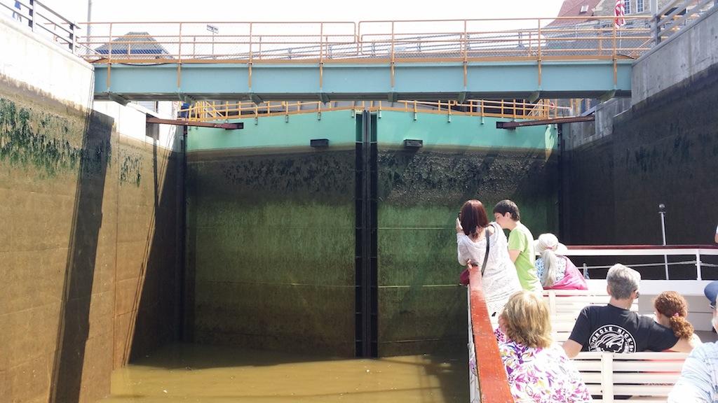 Erie canal doors