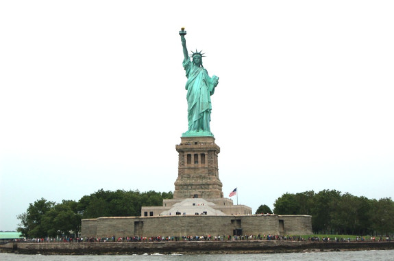 statue of liberty close