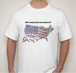Explore All 50's Final T-Shirt Design