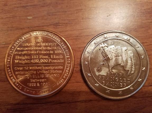 coins back