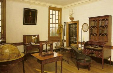 George Washington's study